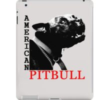 american pitbull terrier iPad Case/Skin