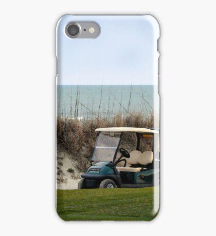Golf Cart, The Ocean Course, Kiawah Island, South Carolina iPhone Case/Skin
