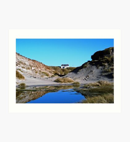 House at Sanna Bay Ardnamurchan Art Print