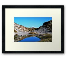 House at Sanna Bay Ardnamurchan Framed Print
