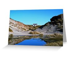 House at Sanna Bay Ardnamurchan Greeting Card