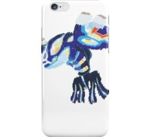 Becca's Primal Kyogre (No outline) iPhone Case/Skin