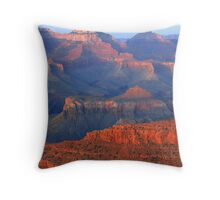 Sunset Detail From Hopi Point Throw Pillow
