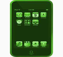 Green iPod Touch Unisex T-Shirt
