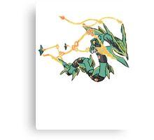 Owain's Mega Rayquaza Canvas Print