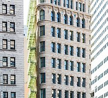 Green Balconies on Classic Architecture by dbvirago