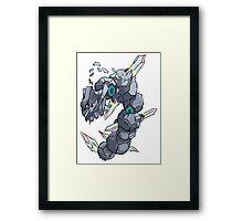 Becca's Mega Steelix Framed Print