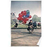 Vintage Paris Balloons For Sale 1956 Poster