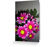 Vivid Floral Display Greeting Card