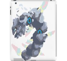 Becca's Mega Steelix (No outline) iPad Case/Skin