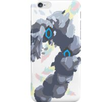 Becca's Mega Steelix (No outline) iPhone Case/Skin