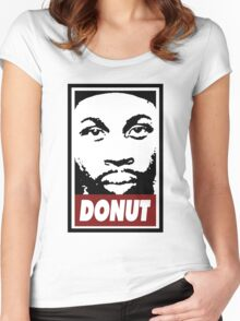 J Dilla Women's Fitted Scoop T-Shirt