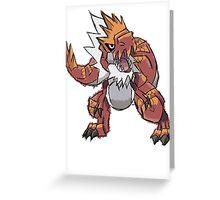 Derek's Tyrantrum Greeting Card