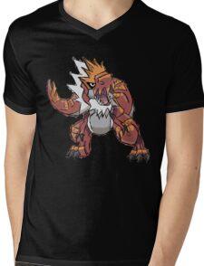 Derek's Tyrantrum Mens V-Neck T-Shirt