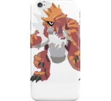 Derek's Tyrantrum (No outline) iPhone Case/Skin
