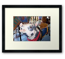 Pig with Red Bandana Framed Print