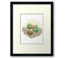 Ben's Whimsicott (No outline) Framed Print