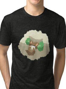 Ben's Whimsicott (No outline) Tri-blend T-Shirt