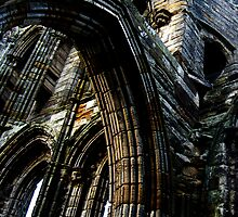 Whitby Abbey x3 by JoCr