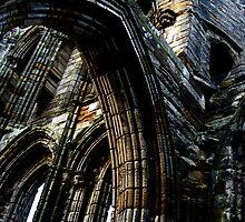 Whitby Abbey x3 by JoCr