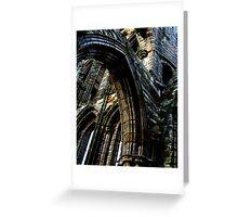 Whitby Abbey x3 Greeting Card