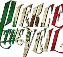 PIERCE THE VEIL Mexican flag by kellicisreal123