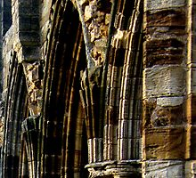 Whitby Abbey x5 by JoCr