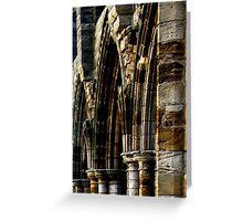 Whitby Abbey x5 Greeting Card