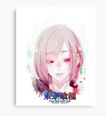 Tokyo Ghoul - Hinami (Ed Card) With Logo Canvas Print