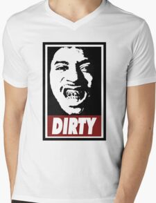 Ol Dirty Bastard Mens V-Neck T-Shirt