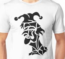harlequin tattoo turned to left Unisex T-Shirt