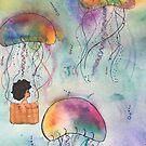Jellyfish Flight by lolowe