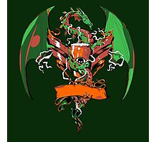 Beer and Ale Dragon Photographic Print