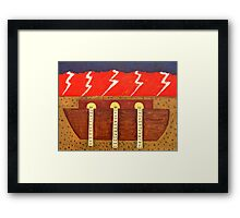 THE FLOOD Framed Print