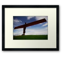 Angel of the North Framed Print