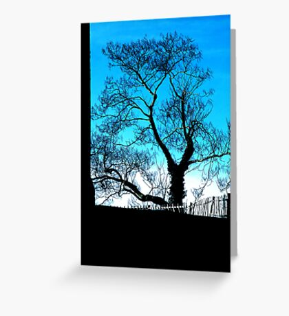 blues.. Greeting Card