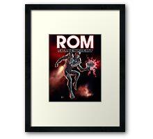 Rom Spaceknight Framed Print