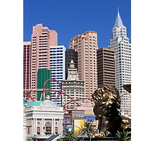 Lion in New York Photographic Print