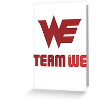 Team World Elite Greeting Card