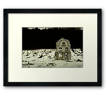 This House, Once A Home Framed Print