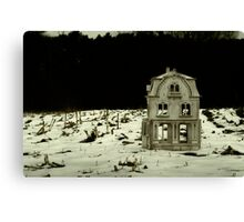 This House, Once A Home Canvas Print