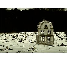 This House, Once A Home Photographic Print