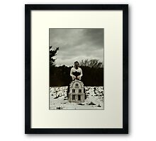 I Will Watch Over You Framed Print