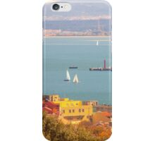 Tejo river . view from Monsanto park iPhone Case/Skin