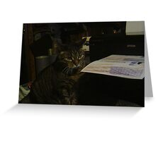 'The Inspector' Greeting Card