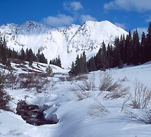 May flower gulch in the winter by Paul Gana