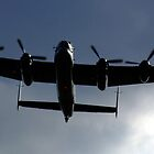 Low Flying Lanc by Spencer Trickett