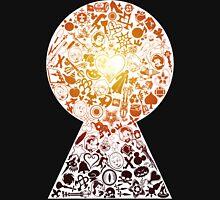 Kingdom Hearts - Keyhole (orange) T-Shirt