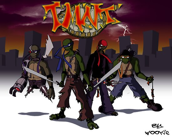 Teenage Mutant Ninja Turtles by WOOKiE