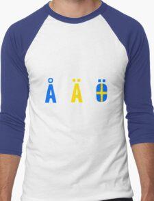 Å Ä Ö Men's Baseball ¾ T-Shirt